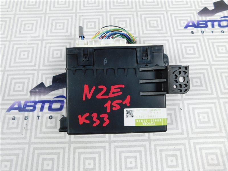 Блок управления климат-контролем Toyota Auris NZE151-1052312 1NZ-FE 2008