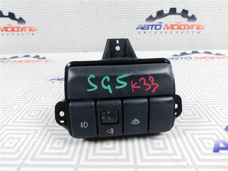 Блок управления светом Subaru Forester SG5-098634 EJ203 2005