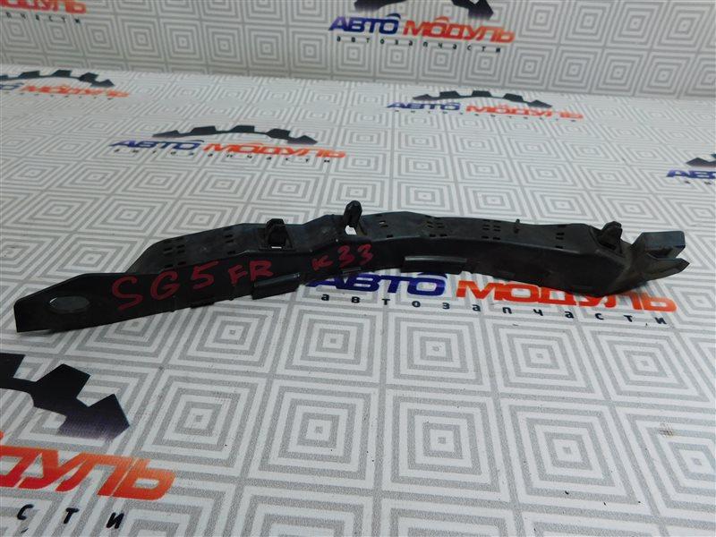 Крепление бампера Subaru Forester SG5-098634 EJ203 2005 переднее правое