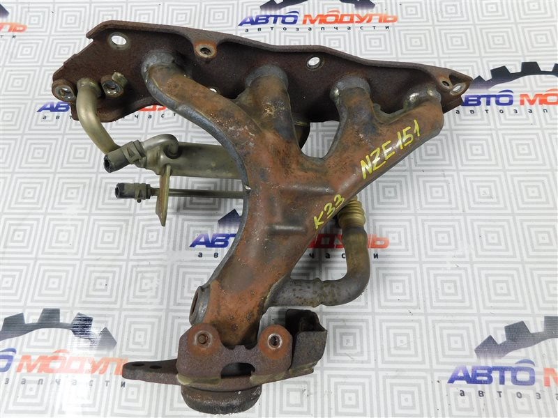 Коллектор выпускной Toyota Auris NZE151-1052312 1NZ-FE 2008