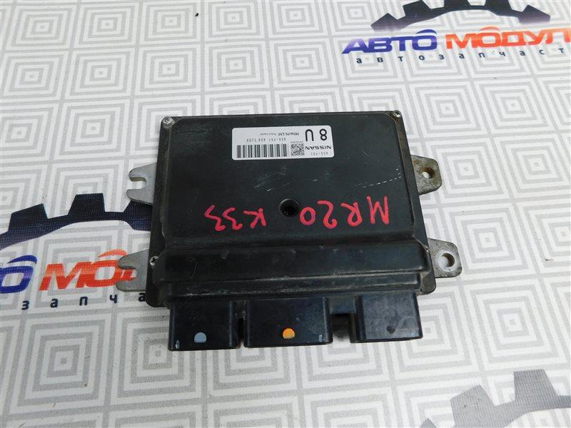 Компьютер двс Nissan Bluebird Sylphy KG11 MR20-DE