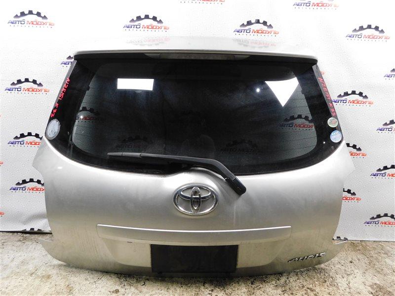 Дверь 5-я Toyota Auris NZE151-1052312 1NZ-FE 2008 задняя