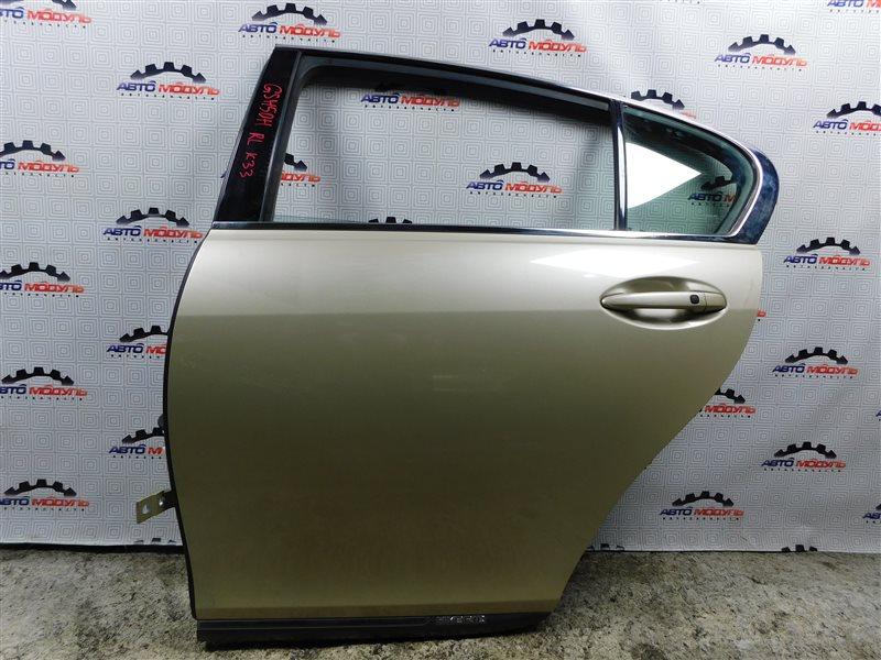 Дверь Lexus Gs450H GWS191 задняя левая
