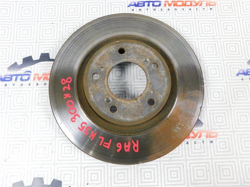 Диск тормозной Honda Odyssey RA6-1000996 F23A передний