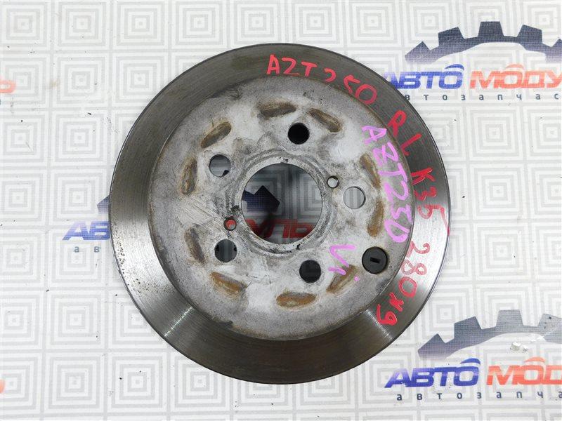 Диск тормозной Toyota Avensis AZT250-0040599 1AZ-FSE 2007 задний