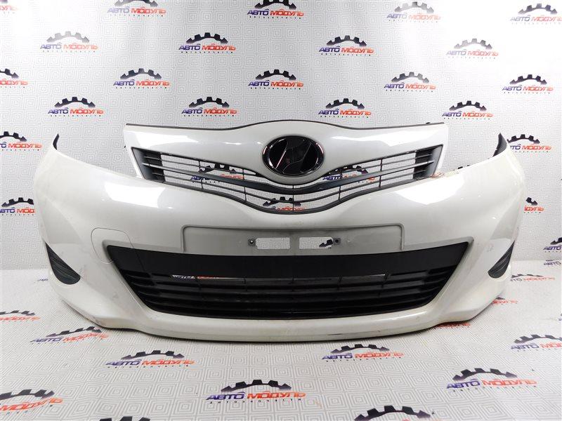 Бампер Toyota Vitz NSP130-2064093 1NR-FE 2012 передний
