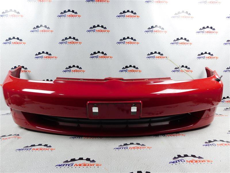 Бампер Toyota Platz NCP12-0041569 1NZ-FE 2000 передний