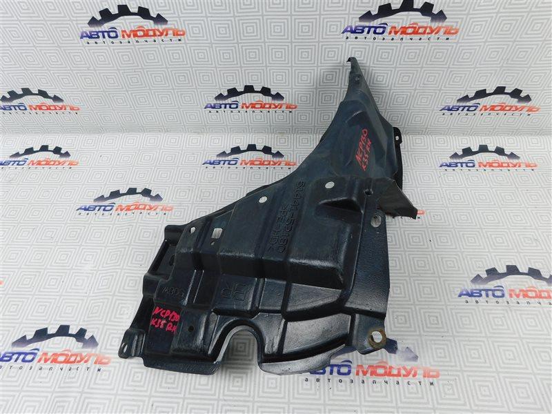 Защита двигателя Toyota Vitz NSP130-2064093 1NR-FE 2012 передняя правая