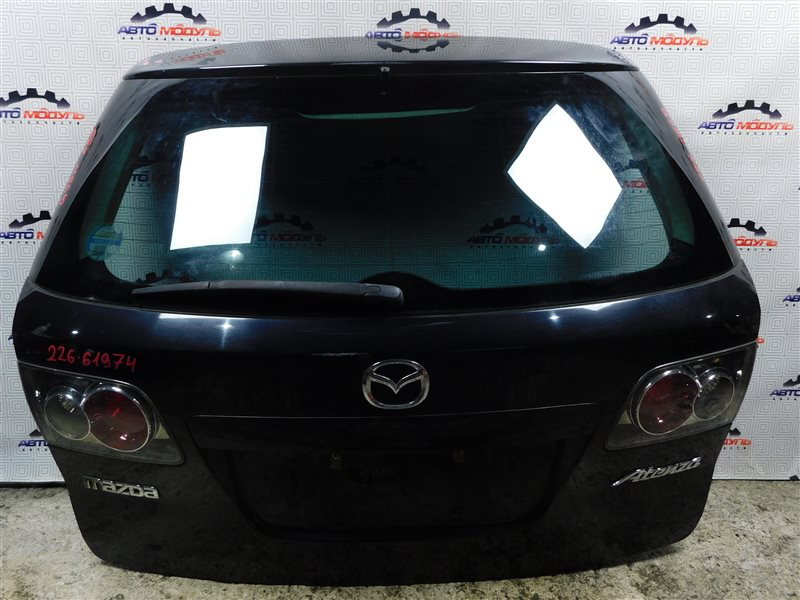 Дверь 5-я Mazda Atenza GY3W-111343 L3 2003 задняя