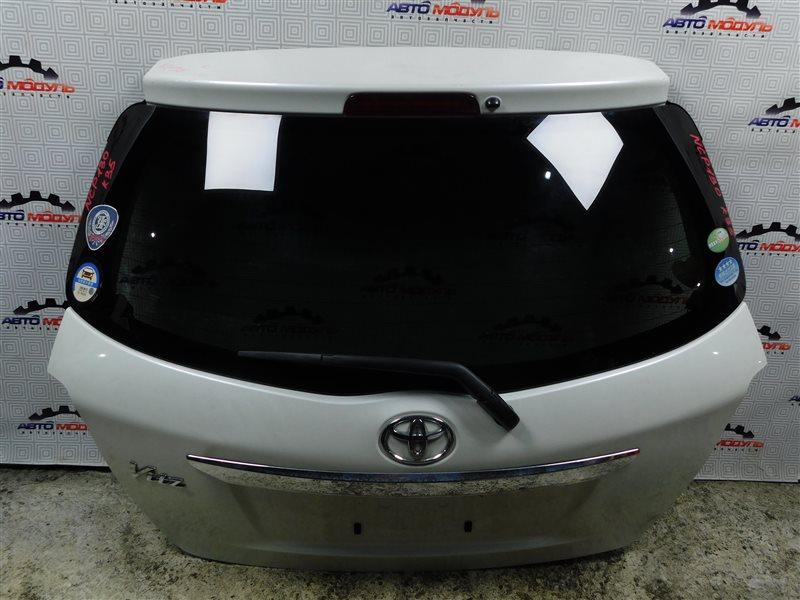 Дверь 5-я Toyota Vitz NSP130-2064093 1NR-FE 2012 задняя