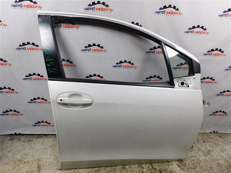 Стекло двери Toyota Vitz NSP130-2064093 1NR-FE 2012 переднее правое