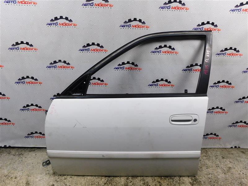Дверь Toyota Sprinter Carib AE115-0063529 7A-FE 2000 передняя левая