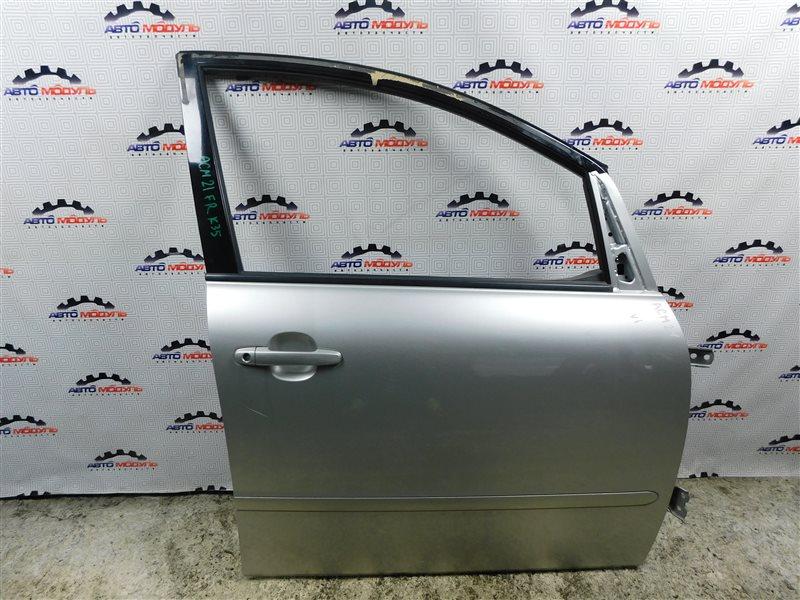 Дверь Toyota Ipsum ACM21-5072750 2AZ-FE 2003 передняя правая