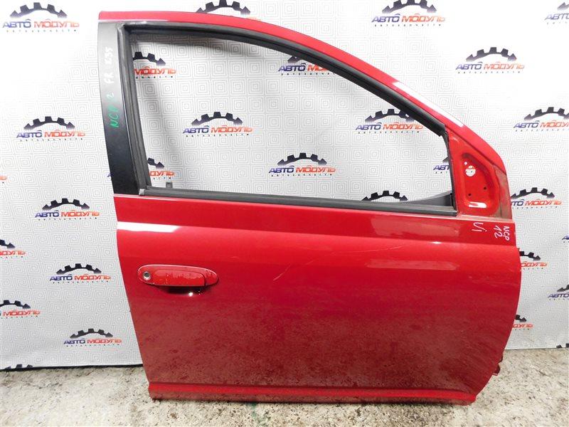 Дверь Toyota Platz NCP12-0041569 1NZ-FE 2000 передняя правая