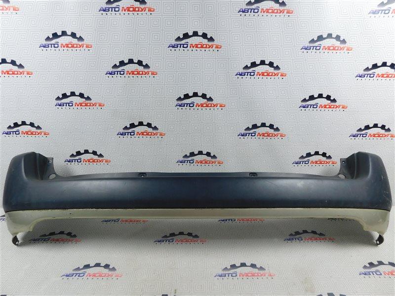 Бампер Toyota Probox NCP58-0022872 1NZ-FE 2003 задний