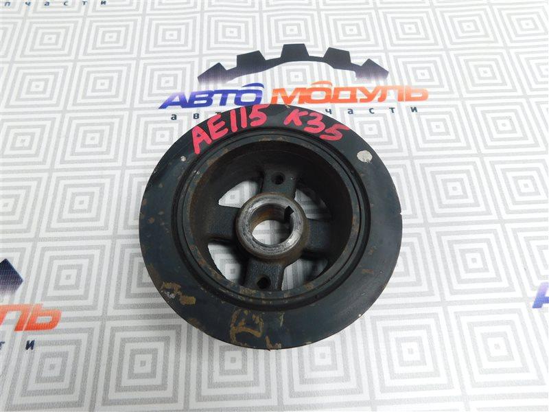 Шкив коленвала Toyota Sprinter Carib AE115-0063529 7A-FE 2000