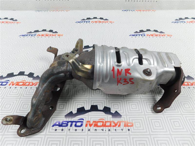 Коллектор выпускной Toyota Vitz NSP130-2064093 1NR-FE 2012