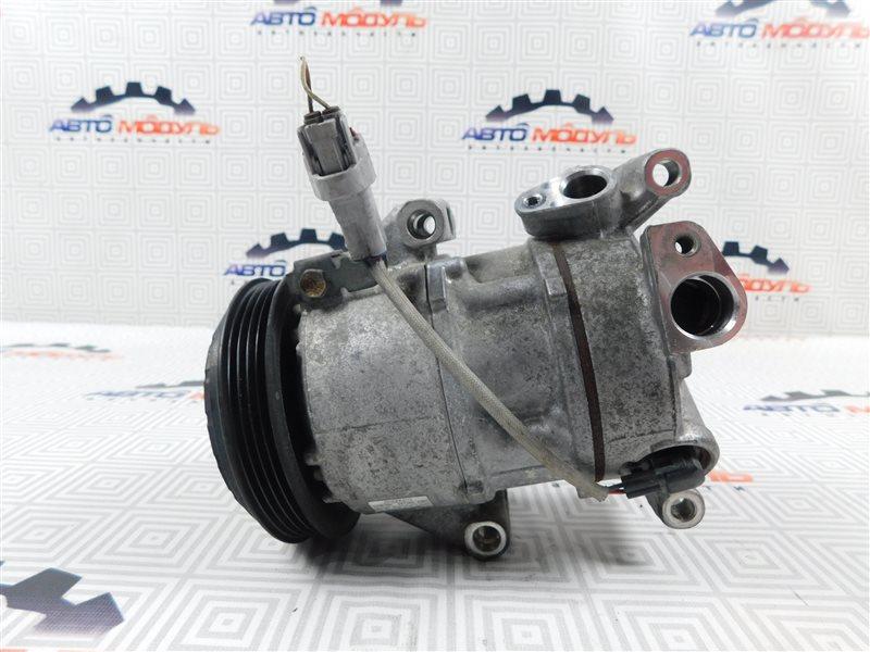 Компрессор кондиционера Toyota Vitz NSP130-2064093 1NR-FE 2012