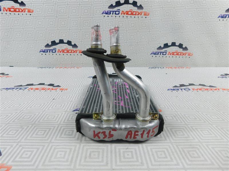 Радиатор печки Toyota Sprinter Carib AE115-0063529 7A-FE 2000