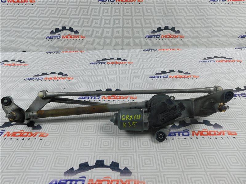 Мотор дворников Toyota Mark X GRX120-0065014 4GR-FSE 2006 передний