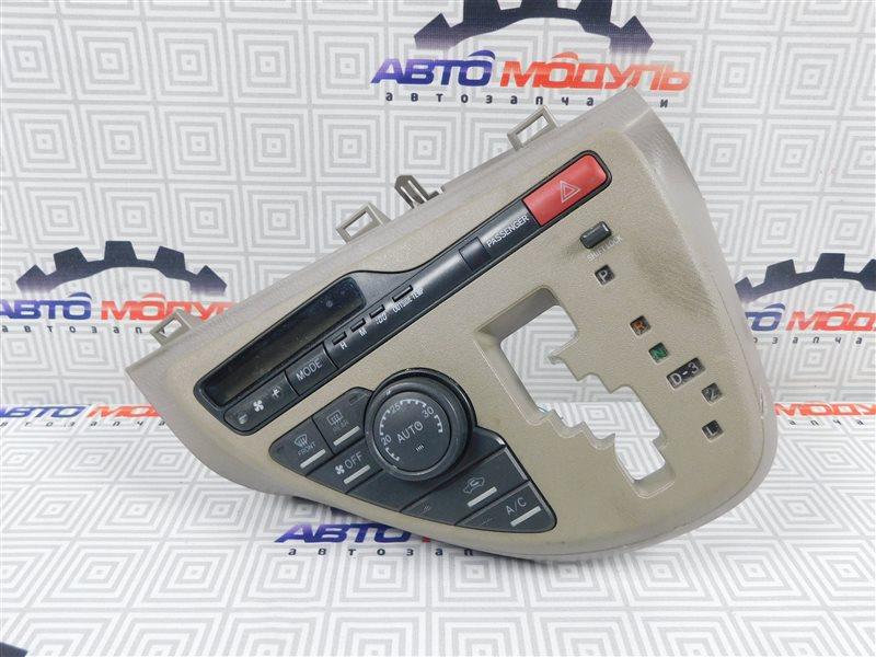 Блок управления климат-контролем Toyota Isis ZNM10-0030443 1ZZ-FE 2006