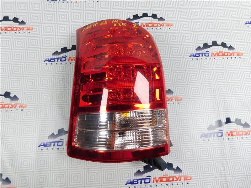 Стоп Toyota Wish ZNE10-0301655 1ZZ-FE 2006 левый