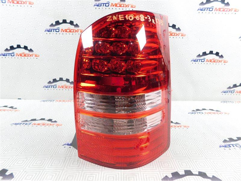 Стоп Toyota Wish ZNE10-0188067 1ZZ-FE 2004 задний правый