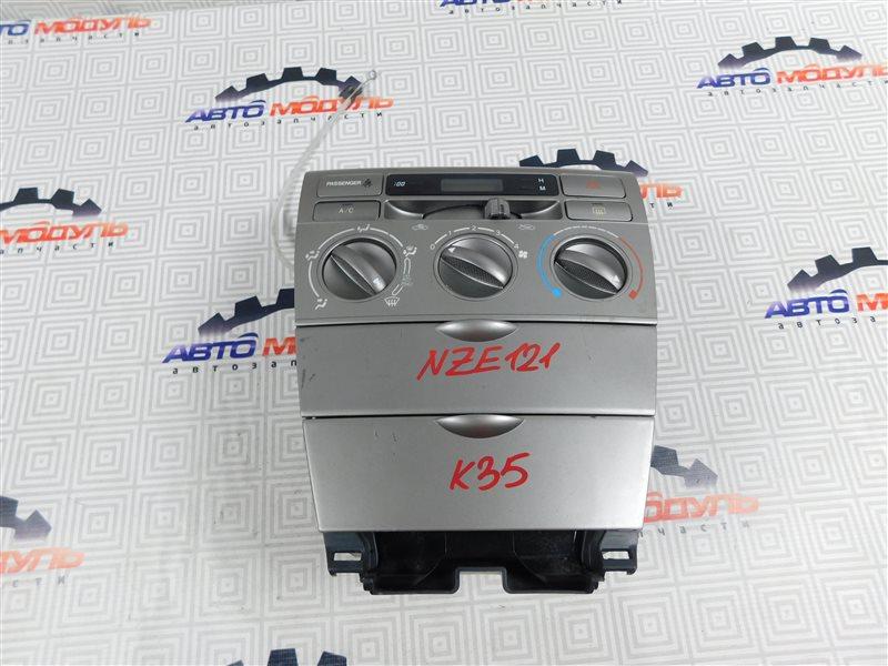 Блок управления климат-контролем Toyota Allex NZE121-0388102 1NZ-FE 2006
