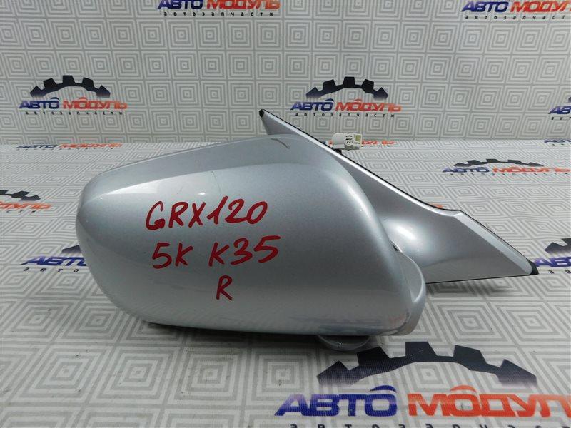 Зеркало Toyota Mark X GRX120-0065014 4GR-FSE 2006 правое