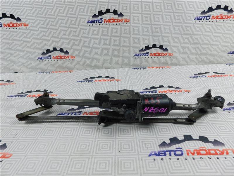 Мотор дворников Toyota Allex NZE121-0388102 1NZ-FE 2006 передний