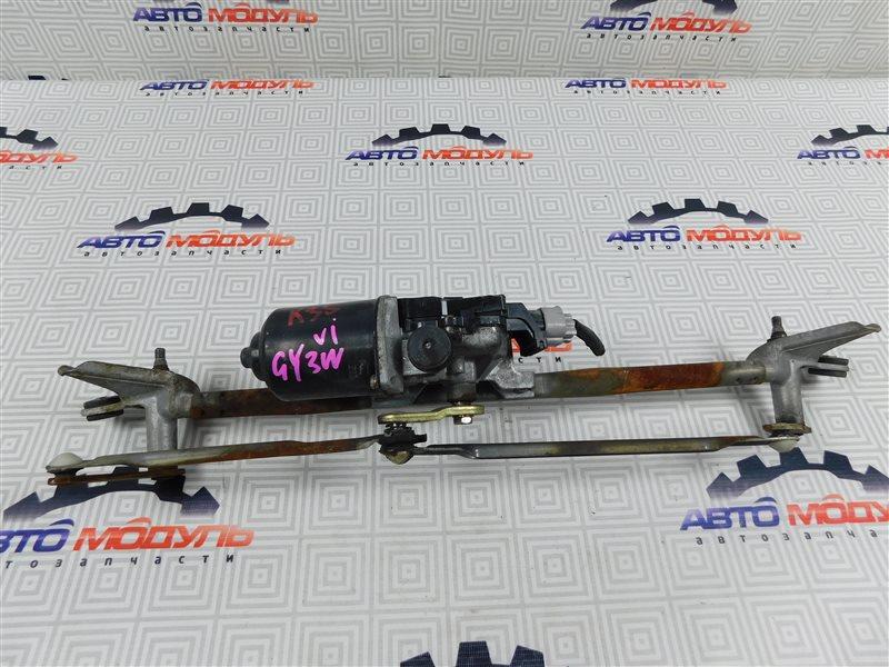 Мотор дворников Mazda Atenza GY3W-111343 L3 2003 передний