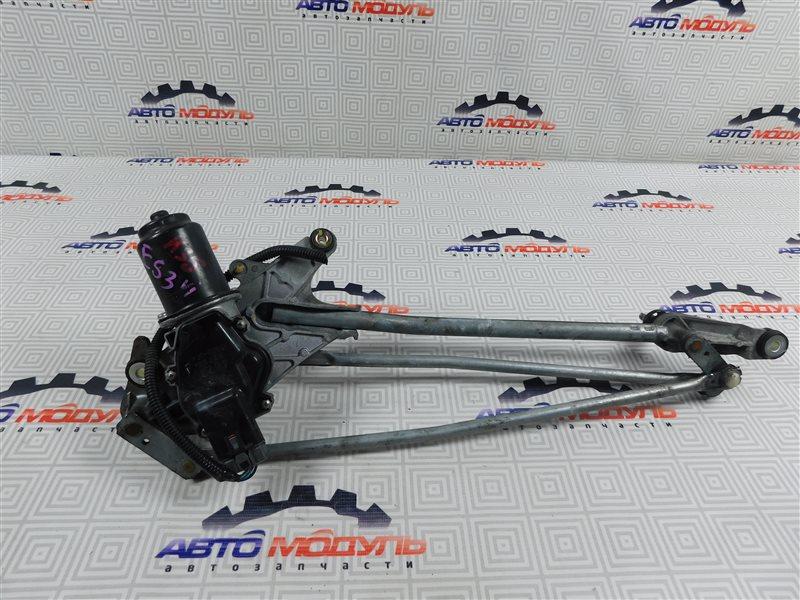 Мотор дворников Honda Civic Ferio ES3-1400878 D17A 2004 передний