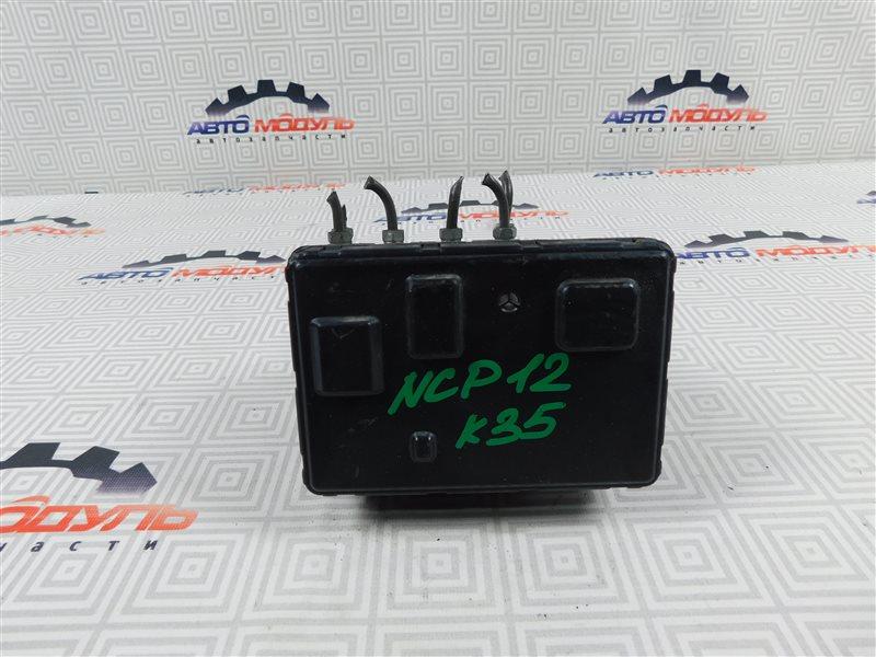 Блок abs Toyota Platz NCP12-0041569 1NZ-FE 2000