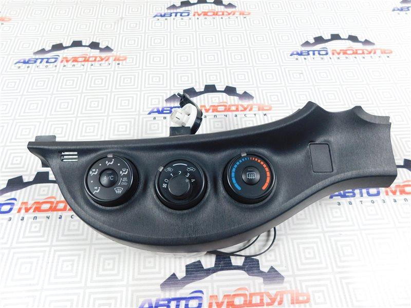 Блок управления климат-контролем Toyota Vitz NSP130-2064093 1NR-FE 2012