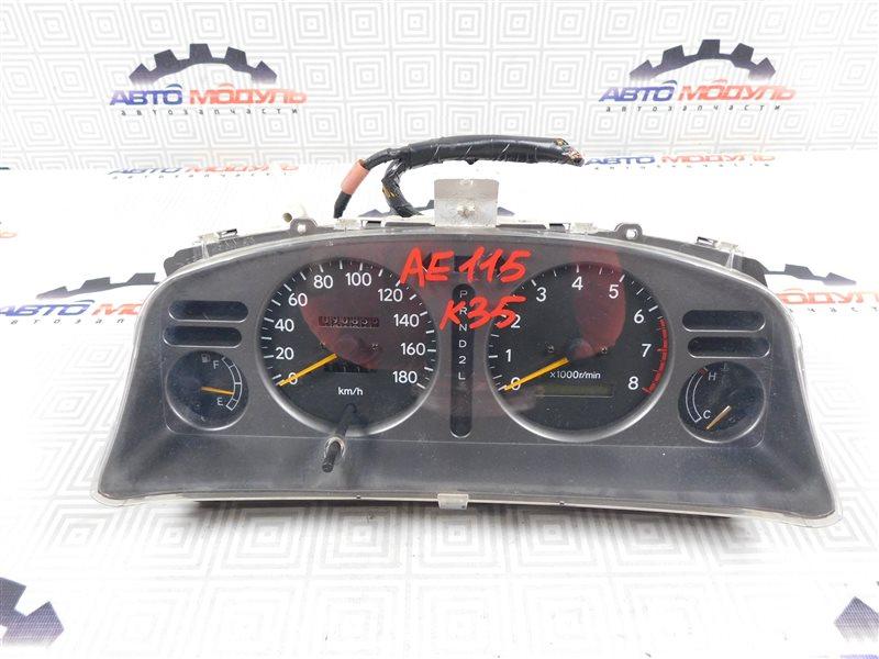 Панель приборов Toyota Sprinter Carib AE115-0063529 7A-FE 2000