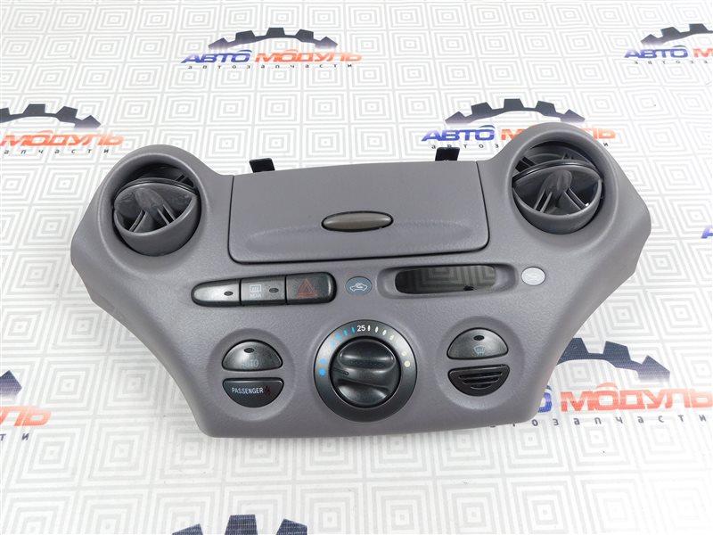 Блок управления климат-контролем Toyota Platz NCP12-0041569 1NZ-FE 2000