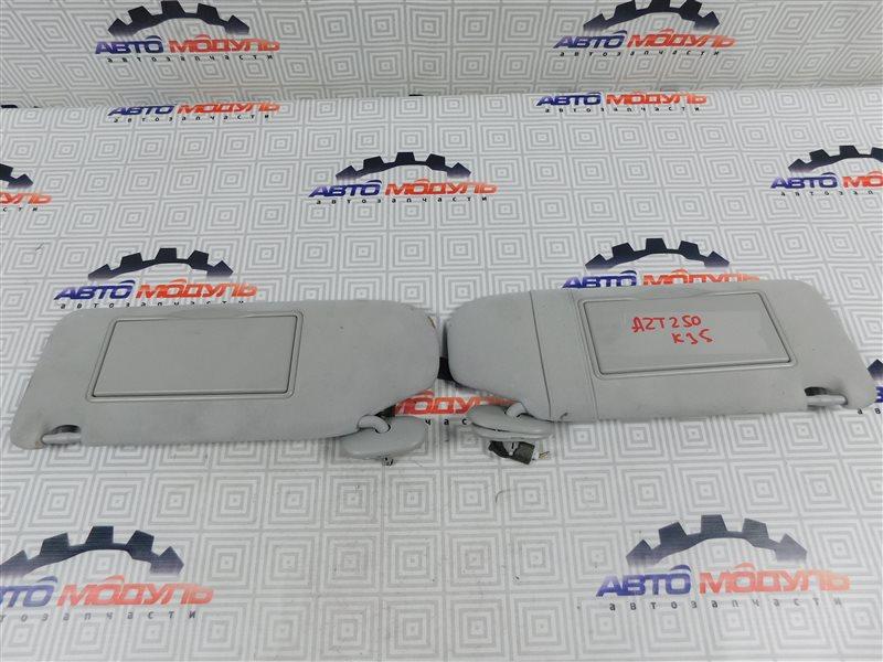 Козырек солнцезащитный Toyota Avensis AZT250-0040599 1AZ-FSE 2007