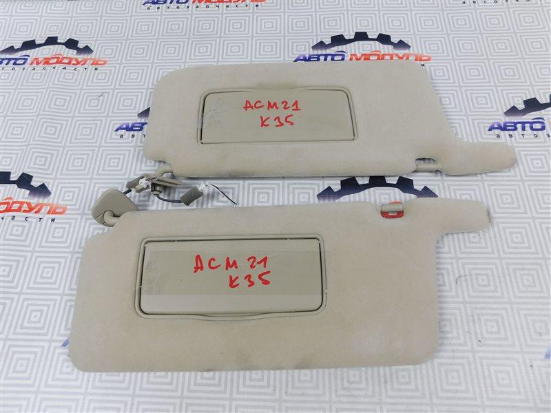 Козырек солнцезащитный Toyota Ipsum ACM21-5072750 2AZ-FE 2003