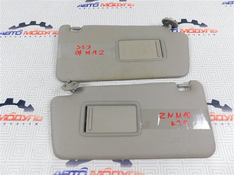 Козырек солнцезащитный Toyota Isis ZNM10-0030443 1ZZ-FE 2006
