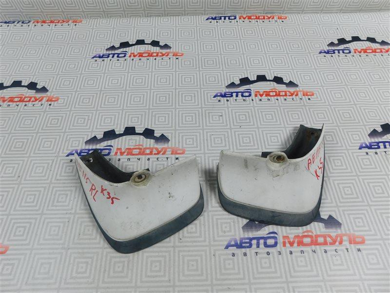 Брызговики комплект Toyota Sprinter Carib AE115-0063529 7A-FE 2000 задние