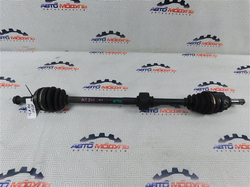Привод Toyota Carina AT211-6065783 7A-FE 2000 передний правый
