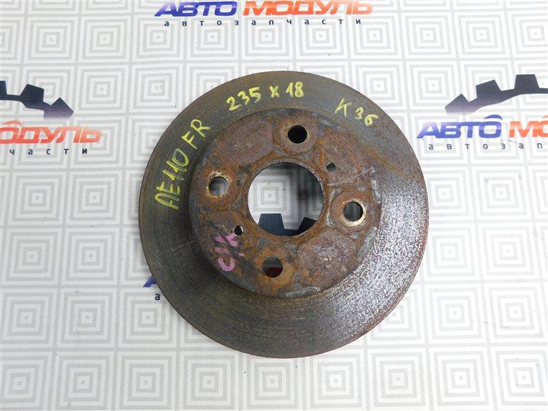 Диск тормозной Toyota Sprinter AE110-3016653 5A-FE 1999 передний
