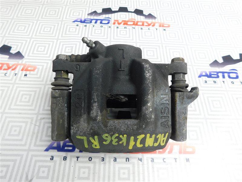 Суппорт Toyota Ipsum ACM21-0053493 2AZ-FE 2005 задний левый