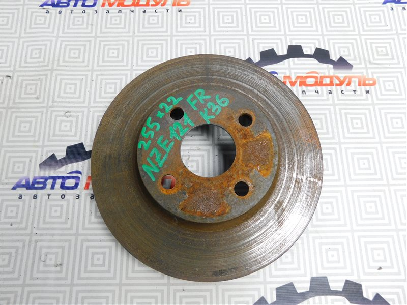Диск тормозной Toyota Corolla Runx NZE121-5020454 1NZ-FE 2002 передний