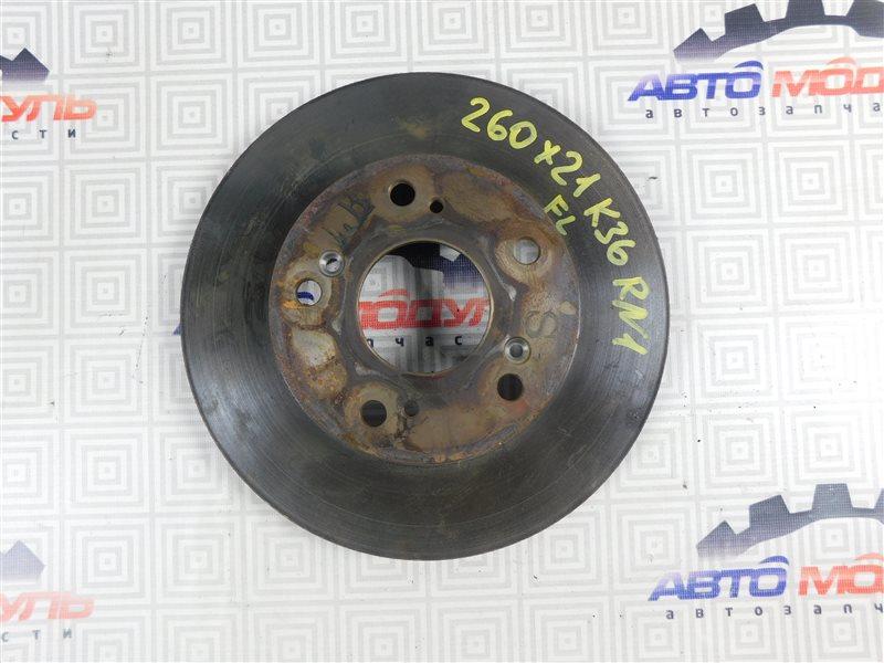 Диск тормозной Honda Stream RN1-2100054 D17A передний