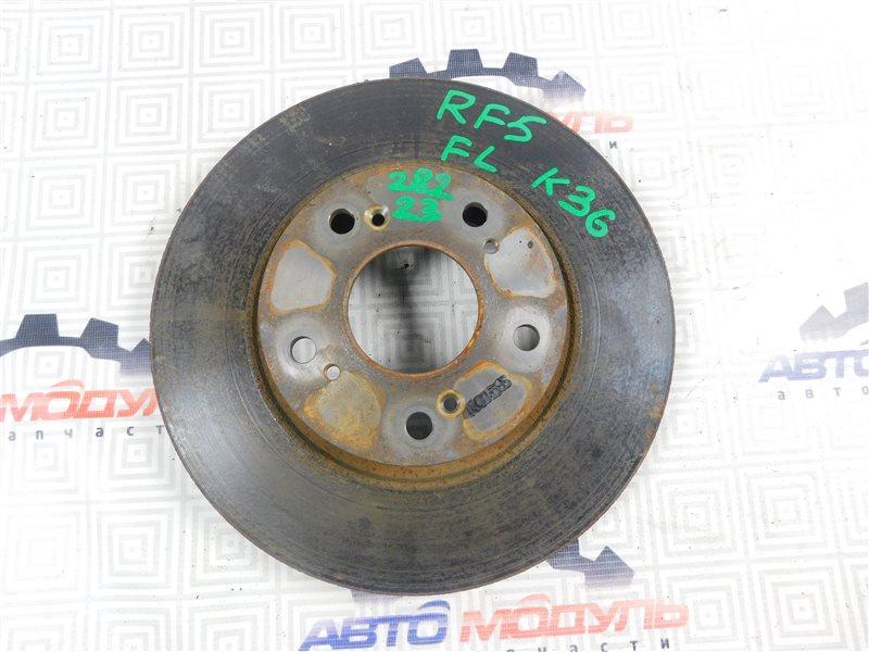 Диск тормозной Honda Step Wagon RF5-1107085 K20A передний