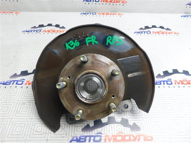 Ступица Honda Step Wagon RF5-1107085 K20A передняя правая