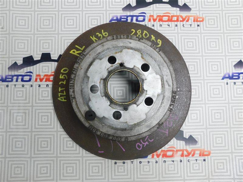 Диск тормозной Toyota Avensis AZT250-0014000 1AZ-FSE 2004 задний