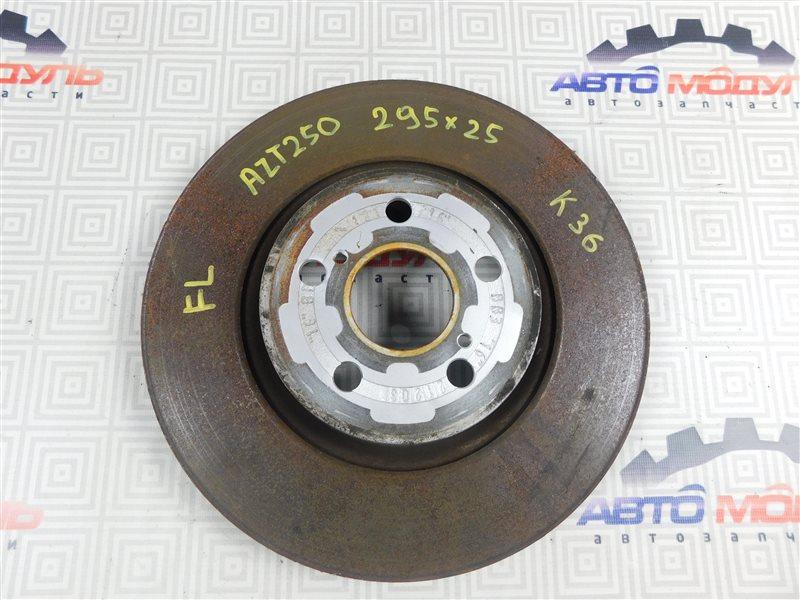 Диск тормозной Toyota Avensis AZT250-0014000 1AZ-FSE 2004 передний