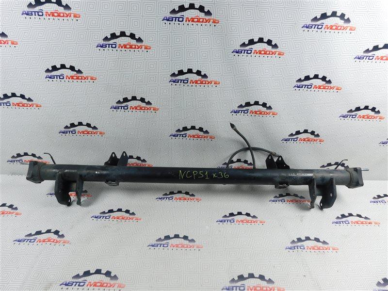 Балка подвески Toyota Probox NCP51-0259558 1NZ-FE 2011 задняя